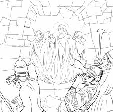 matthew 22 verse 39 coloring page in bible story coloring pages