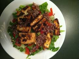 blackened tofu salad recipe divine shanti yoga u0027s blog