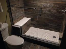 Barnwood Bathroom Interesting Nice Barnwood Finish Tile Used In The Bath And Roon