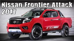 nissan frontier new 2017 nissan frontier attack concept youtube
