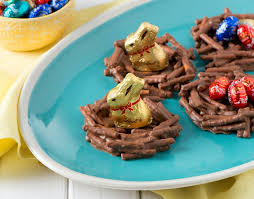 lindt chocolate easter nests lindt chocolate