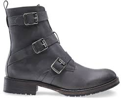 womens boots grey leather lizzie buckle boot grey leather wolverine