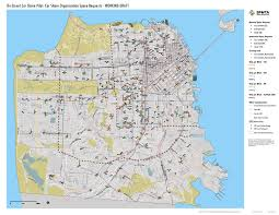 San Francisco Transportation Map by Hundreds Of Sf Parking Spots Could Be Reserved For Car Sharing