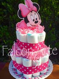 cake for baby shower baby minnie mouse cake 2 tier cake for baby shower or any