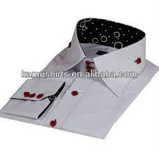 mens high collar dress shirts cotton italian designs high collar