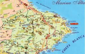 Map Of Valencia Spain by La Marina Alta It S Not For Everyone Jacaranda Property Spain