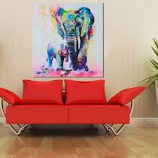 popular elephant paintings for wall buy cheap elephant paintings