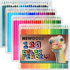 newdoer 120 ultimate coloured pencil set the best colouring