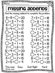 Ist Grade Math Worksheets 2nd Grade Math Worksheets Mental Subtraction To 20 2