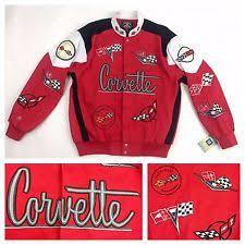 corvette racing jacket corvette s coats and jackets ebay