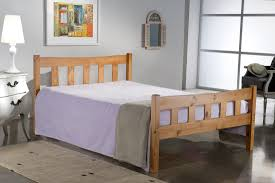 own this bonsoni simple style small double miami bed frame pine