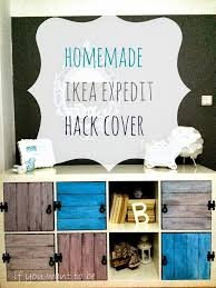 Ikea Wall Unit Hack 35 Diy Ikea Kallax Shelves Hacks You Could Try Shelterness