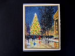 67 best mod outdoor scene christmas cards images on pinterest