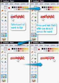 how to edit u0026 enhance screenshots in ms paint