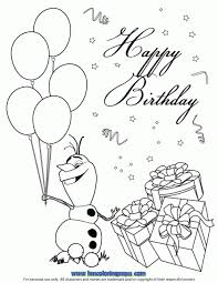 olaf summer coloring pages free coloring pages kids