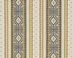 ivory upholstery fabric yellow grey woven stripe ikat upholstery fabric by the yard dark