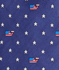 Blue Flag With Stars Shop Flag Whale U0026 Stars Tie At Vineyard Vines