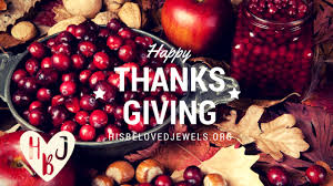 a thanksgiving poem his beloved jewels