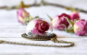 Preserve Flowers Enchanting Necklaces Preserve Whole Flowers In Their Pendants