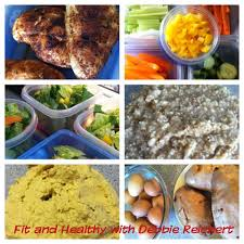 clean eating challenge grocery list fit and healthy with debbie