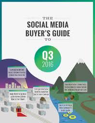 black friday social media campaigns social media buyer u0027s guide q3 2016 expert packet download data