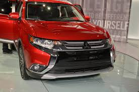 red mitsubishi outlander 2016 mitsubishi outlander first look motor trend