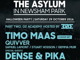 halloween weekend 2016 clubbing guide o2 academy bournemouth