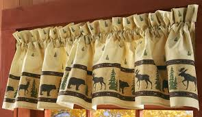 Cabin Style Curtains Log Cabin Decor Curtains Cabin Curtains For Window Cabin Home
