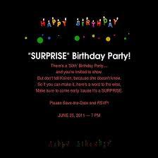 surprise 50th birthday party invitations kawaiitheo com