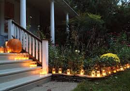 outdoor halloween decorations easy yard and porch ideas idolza