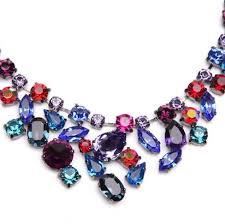coloured crystal necklace images Swarovski multi color necklace necklace wallpaper jpg