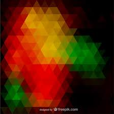 triangle pattern freepik little triangles background in red yellow and green vector free