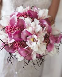 wedding flowers for bridesmaids wedding flowers ideas orchids orchid wedding bouquets in