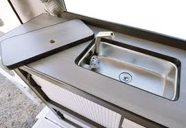 metal kitchen sink and cabinet combo 9 best rv kitchen sink recommendations in 2020 tinyhousedesign