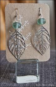 earring card jewelry display tags bisuteria