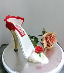 shoe cake topper high heel shoe cake topper boot and silver stiletto
