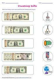 brilliant ideas of counting coins and bills worksheets about