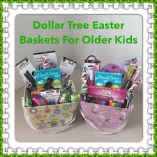 dollar tree easter baskets for older kids youtube