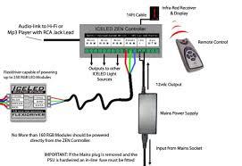 rgb led light controller mini rgb colour changeable led plinth deck lights wiring