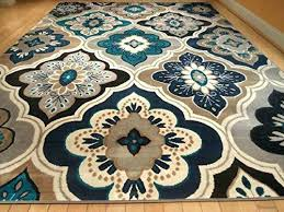 Area Rugs Blue Teal And Brown Rug Blue Brown Area Rug Teal Brown Rug