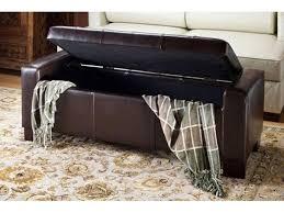 Storage Bench Ottoman Sofa Faux Leather Storage Bench Faux Leather Storage Bench With