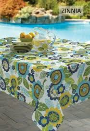 Patio Tablecloth Round Tablecloth Umbrella Hole Ebay
