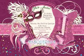 despedida invitation masquerade bachelorette party invitation bachelorette party