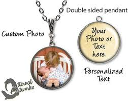 Customize Your Own Necklace Custom Photo Pendant Necklace Design Your Own Necklace