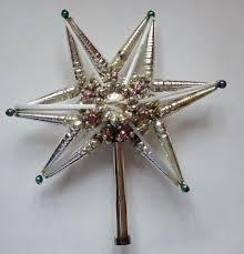 1647 best vintage ornaments tree toppers mercury