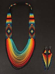 indian beaded necklace images Native american beadwork bead wor jpg
