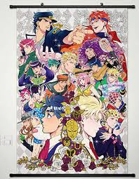 bizarre home decor home decor wall poster scroll jojo jojo s bizarre adventure jotaro