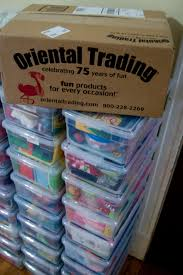 oriental trading co to add some little extra special items to