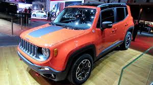 2015 jeep renegade diesel 2015 jeep renegade trail hawk diesel exterior walkaround debut
