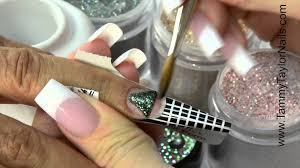 tammy dazzle and ornament nails